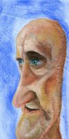 Old Man Caricature by Zyryphocastria