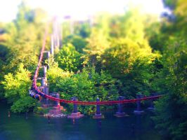 Big Bad Wolf TiltShift by Kiboku