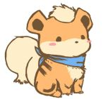 Baby growlithe by mg9990