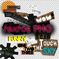 Textos PNG by twgroupdesigns
