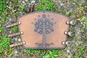 Tree of Gondor Bracer by Half-Goat