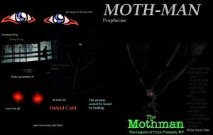 + MothMan + The Half Light + by InvaderTayra
