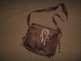 leather bag by vladrozgozo