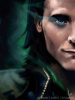 Loki - The Frost Giant (animated) by riotfaerie