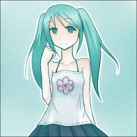 casual clothed miku by amuletdream
