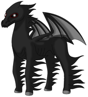 MM: Phesphoroe the Thestral by Proceleon