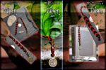 TAKEN - Bookmark Danger by Andecaya