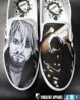 Nirvana shoes by danleicester