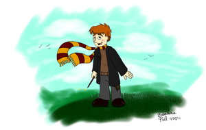 Ron Weasley by ShortyLego