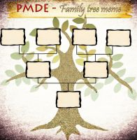 PMDE Family Tree Meme by AnimeFoxySheikah