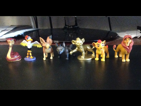 Lion Guard Blind Bag figures by Se7J-r