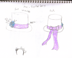 Top Hat design 2 by waterfish5678901