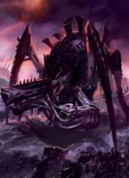 Tyranid Tyrannofex Artwork by Zergwing