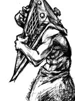 Pyramid Head: Happy Halloween by ccRask