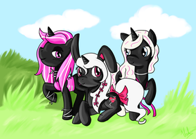 The Three of Us Commish by ValkyrieSkies