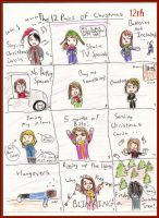 December 12th, The 12 Pains of Christmas by Xx-Angel-Sherubii-xX