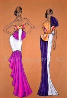 Collection of dresses 3. by Verenique