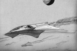 rentry capable strike fighter by scifieart10000