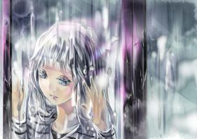 It's raining... by Risa1