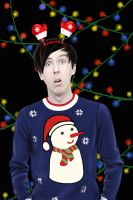 Phil Lester - 'Christmas Edition' by DraconaMalfoy