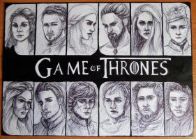 Game of Thrones by Alone-Immortal