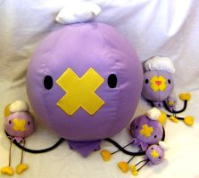 Drifloon Plush - NO FAV by PokePlushProject