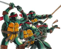 Ninja Turtles by JoshRivoli