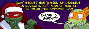2013 TMNT Secret Santa Sign-up deadline is close! by Pimpypants