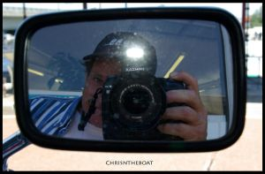 chrisntheboat in a mirror... by chrisntheboat
