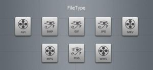 Grey File Type Icons by blymar