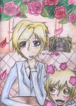 Ouran- Tamaki and Hunny by Toejones