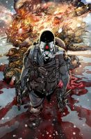 BLOODSHOT cover color by Lobote