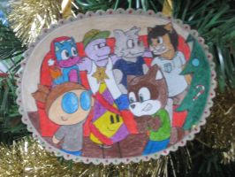 Christmas Ornament 2013 by Anko6