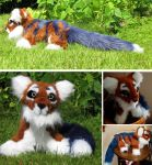 Red, the Panda-tiger by Aktarin