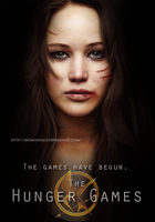 Katniss - The Hunger Games by JessMindless