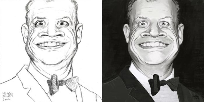 Daily Sketches Don Rickles by fedde