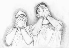 #upsetworldcupfans - pencil sketches by me by keiross