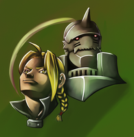 A tale of Steel and Soul by vandalk