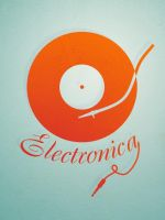Electronica logo by deepdesign