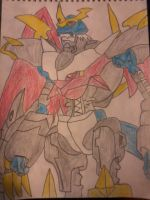 imperialdramon fighter mode by byronalex123