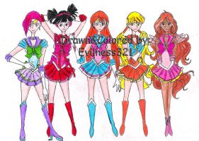 :WC: Sailor Winx Part 1 by Evilness321