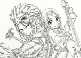Fairy Tail - NaLu - We're Ready! by SouzouRinkan