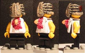 LEGO Aliens Alien Victim by ARMORMAN