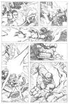 Fantastic Four Page 2 by craigcermak