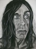 Iggy Pop by lackasleep