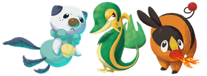 Pokemon Stickers by Ironmary