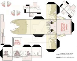 CHII DE CHOBITS CUBEE by animepapertoys