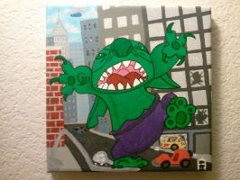 Hulk Stitch by U-Nica