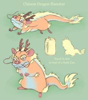 Chinese Dragon Hamster by PandaAGoGo