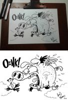 Oink by PacoAfroMonkey